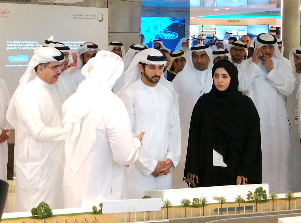 His Highness inspects upcoming DEWA projects