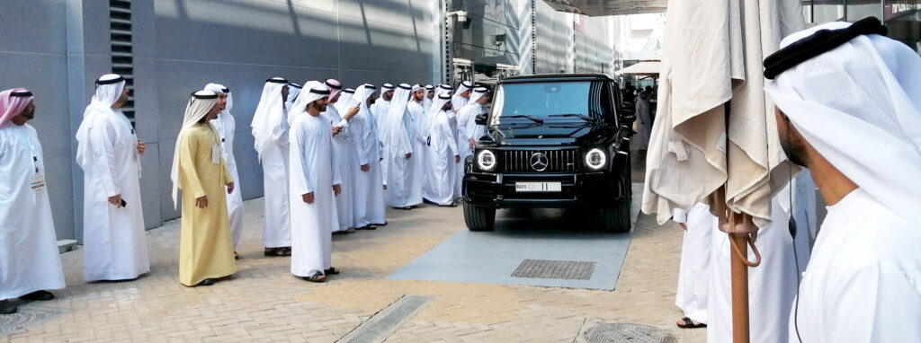 His Highness departs from WETEX
